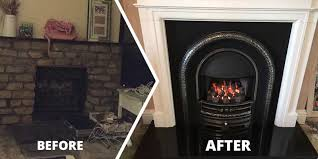 gas fire and fireplace fitting exmouth