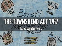 The Townshend Act was named after ...
