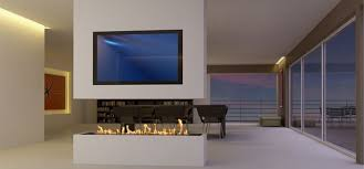 smart ethanol and water fireplaces by