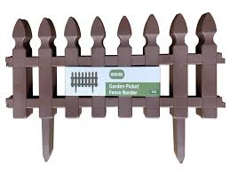 Garden Patio Fence Panels Heritage Garden Fence Picket Border Brick Wall Edging Gardening Lawn Fencing Mtmstudioclub Com