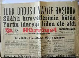 27 mayıs 1960 tarihli gazete ile ilgili görsel sonucu