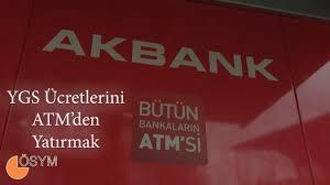 YKS YGS LYS KPSS Ücretini ATM'den Yatırmak - YouTube