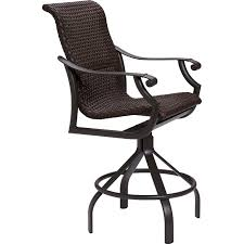 montreux woven swivel bar stool