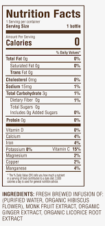 nutrition licorice 03 nutrition facts