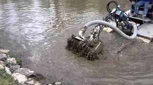 pond dredging sediment removal you