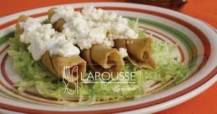 tacos dorados definición culinaria