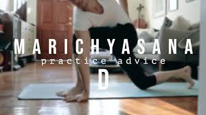 marichyasana d ashtanga yoga practice