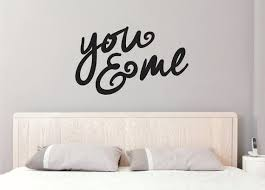 Wall Decals You Me Wall Decal You Me Wall Decal You Etsy In 2020 Wall Stickers Room Wall Decals Vinyl Wall Decals