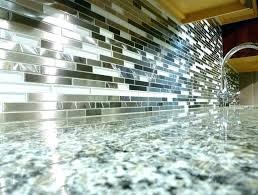 how to install glass tile backsplash