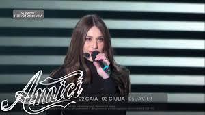 Amici 19 - Gaia - Chega - La Finale - YouTube