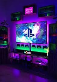 32 Comfy Video Gaming Room Designs Ideas That Your Kids Will Like It In 2020 Game Room Decor Video Game Rooms Game Room Design