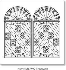 Wrought Iron Gate Door Fence Window Grill Railing Design Art Print Barewalls Posters Prints Bwc23347699