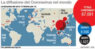 Coronavirus, altri 67 casi sulla Diamond Princess
