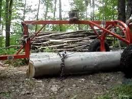 new build atv log skidder