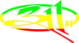Rastafarian 311 Decal 311 Sticker A
