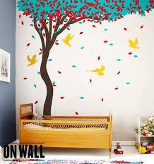 Summer Tree Nature Vinyl Wall Decal Nursery Wall Decals Vinyl Etsy