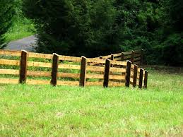 3 4 And 5 Board Post And Rail Wood Fence Pasture Fencing Farm Fence Post And Rail Fence