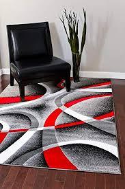 com 2305 gray black red white