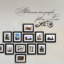 All Because Two People Fell In Love Wall Decal Romantic Love Quote Wedding Decor Vinyl Wall Sticker 34 X16 Vinyl Wall Stickers Wall Stickerlove Quotes Aliexpress