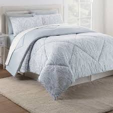6 piece reversible comforter set