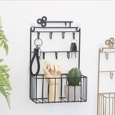 2019 wall mount key mail holders with 7