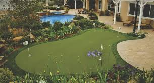 residential putting green installations