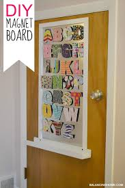 Big Girl Room Doors Diy Magnet Board Balancing Home