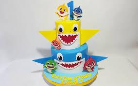 babyshark birthday cake sooperlicious