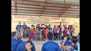 DHL's Got Heart - Special Education Class of Rosario, West, Central School  (Batangas)