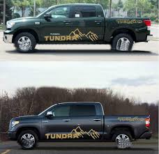 Car Truck Graphics Decals Graphics Mountain Car Sticker Pickup Truck Side Skirt Decal For Toyota Tundra Auto Parts And Vehicles