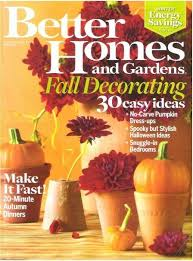 better homes and gardens fall