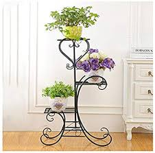 plant stand metal flower herbs holder