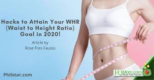 Hacks to Attain Your WHR (Waist to Height Ratio) Goal in 2020 ...