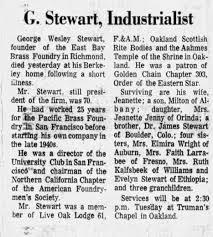 George Wesley Stewart obituary - Newspapers.com