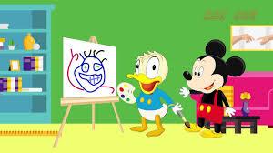 Phim hoạt hình hay nhất, mới nhất: Vịt Donald học vẽ- Donald Duck learned  drawing - YouTube