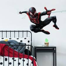 Marvel Giant Spiderman Vinyl Wall Decal Bed Bath Beyond