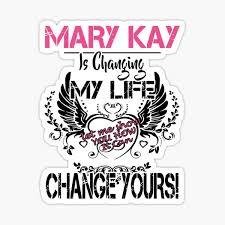 Mary Kay Stickers Redbubble