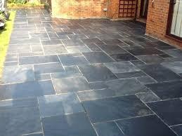 outdoor patio porcelain tile concrete