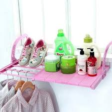 shelf with cover drying shoe rack