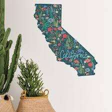 Ebern Designs California Wall Decal Wayfair