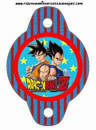 Dragon Ball Z Imprimibles Gratis Para Fiestas Cumpleanos De