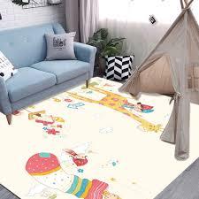 Buy Floor Rug Cartoon Deer Washable Cute Kids Room Rug Rugs Mats At Jolly Chic