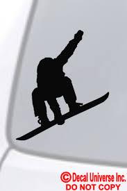 Snowboarder Snowboarding Vinyl Decal Sticker Car Window Wall Bumper Dope Trick For Sale Online