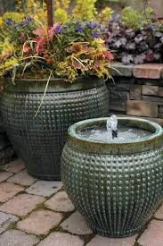 diy fountain garden fountains