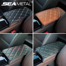 pu leather car armrest covers universal