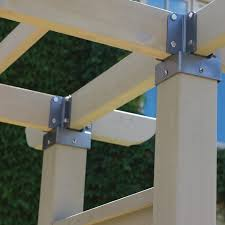 6 X 6 Post Connector In 2020 Fence Panels Wood Fence Design Steel Fence Panels