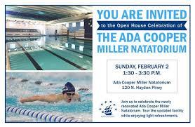 The Ada Cooper Miller Natatorium Open House