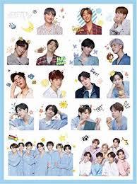 Amazon Com Got7 Sticker Kpop Got7 Album Spinning Top Sticker Got7 Laptop Car Decoration Cellphone Decal Got7 Office Products