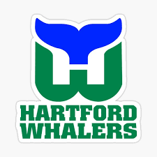 Hartford Whalers Stickers Redbubble