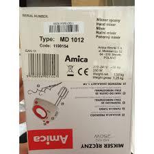 Máy đánh trứng Amica MD1012